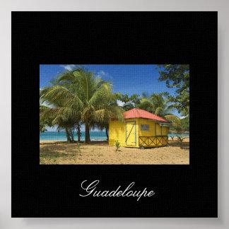guadeloupe-plage, Guadeloupe Print