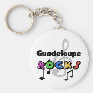 Guadeloupe Rocks Key Chains