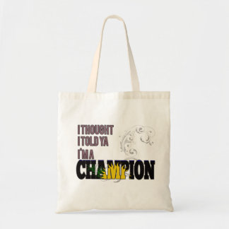 Guadeloupean and a Champion Tote Bag