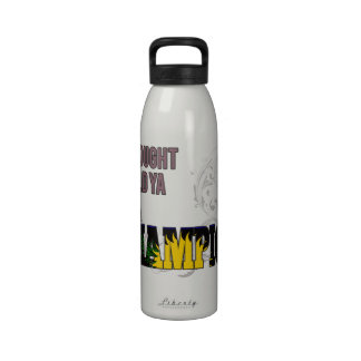Guadeloupean and a Champion Reusable Water Bottle