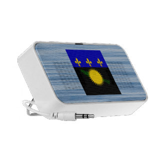 Guadeloupean Flag Floating on water Travelling Speakers