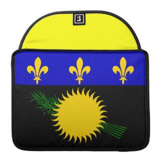 Guadeloupean Flag MacBook Pro Sleeve
