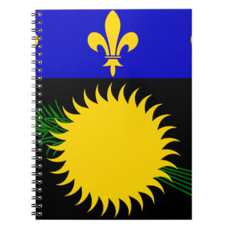 Guadeloupean Flag Notebook
