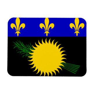 Guadeloupean Flag Flexible Magnet