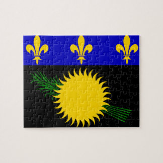 Guadeloupean Flag Puzzle