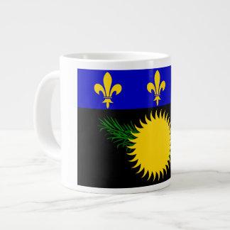 Guadeloupean Flag Jumbo Mug