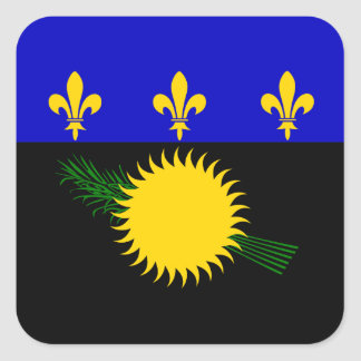 Guadeloupean Flag Sticker
