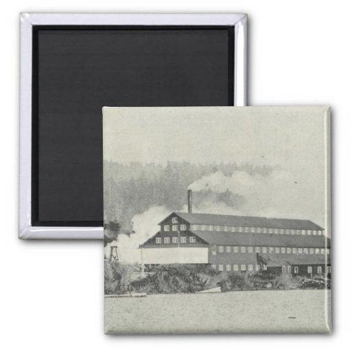 Gualala Mill, California Fridge Magnet