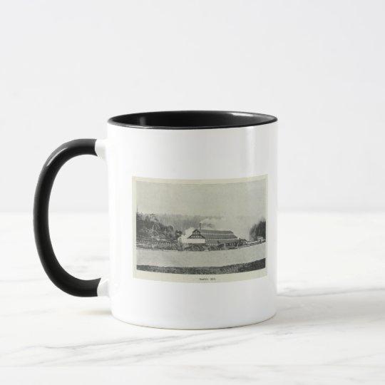 Gualala Mill, California Mug