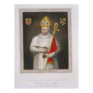 Gualterio de Merton (d.1277), después de una Postal