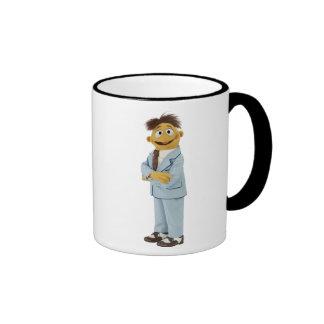 Gualterio en juego taza de café