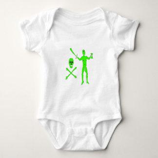 Gualterio Kennedy-Verde Body Para Bebé