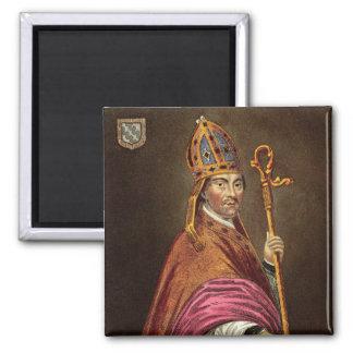 Gualterio Stapledon (1261-1326), después de una pi Imán Cuadrado
