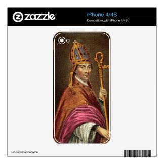 Gualterio Stapledon (1261-1326), después de una pi iPhone 4S Calcomanía