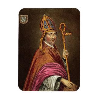 Gualterio Stapledon (1261-1326), después de una pi Rectangle Magnet