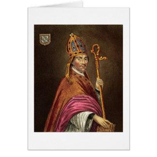 Gualterio Stapledon (1261-1326), después de una pi Tarjeta De Felicitación