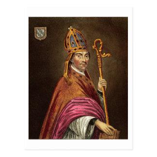 Gualterio Stapledon (1261-1326), después de una Tarjeta Postal