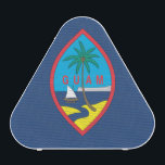 """GUAM BLUETOOTH SPEAKER<br><div class=""""desc"""">FlagSwag.com Gifts and Apparel: Custom World Flag Designs and Patterns on T-shirts,  Posters,  Mugs,  Stickers and more gifts. Choose &quot;Customize&quot; then &quot;Edit&quot; to change the color on any style and browse more designs at http://www.FlagSwag.com</div>"""