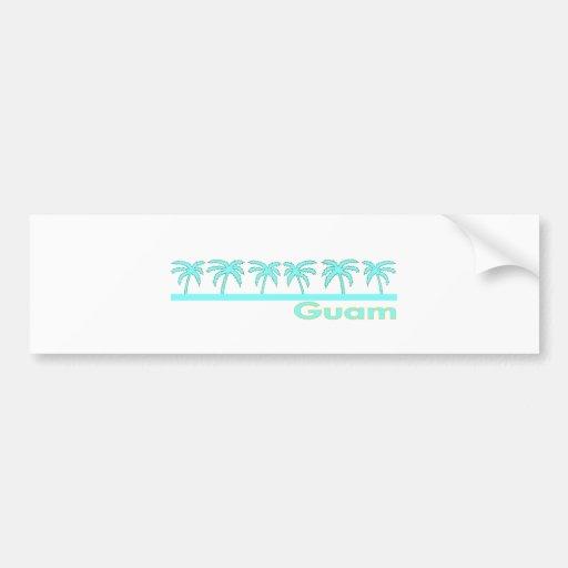 Guam Car Bumper Sticker