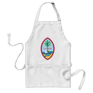 Guam Coat Of Arms Adult Apron
