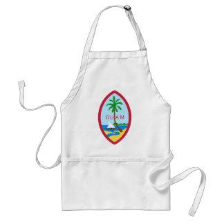 Guam Coat Of Arms Adult Apron