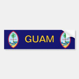 Guam Coat of Arms Bumper Sticker