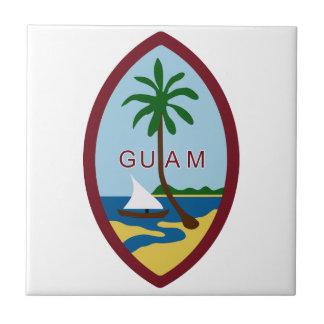 Guam Coat of Arms Ceramic Tile