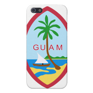 Guam Coat Of Arms Cover For iPhone SE/5/5s
