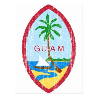 Guam Coat Of Arms Postcard