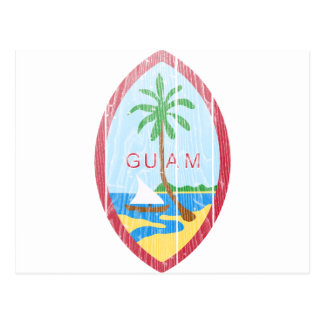 Guam Coat Of Arms Post Cards