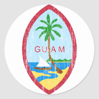 Guam Coat Of Arms Stickers