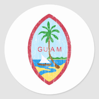 Guam Coat Of Arms Sticker