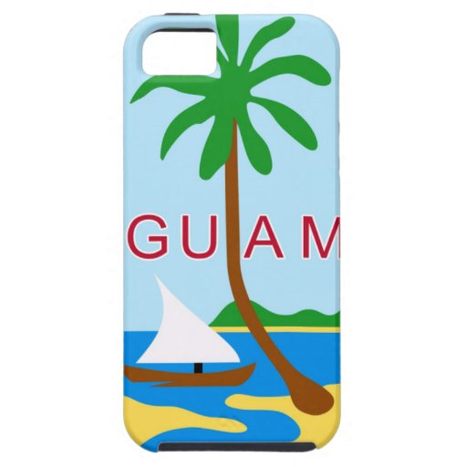 GUAM - emblem/flag/coat of arms/symbol iPhone 5 Covers