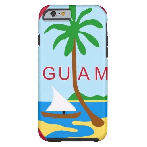 GUAM - emblem/flag/coat of arms/symbol iPhone 6 Case