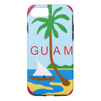 GUAM - emblem/flag/coat of arms/symbol iPhone 8/7 Case
