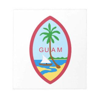 GUAM - emblem flag coat of arms symbol Notepads
