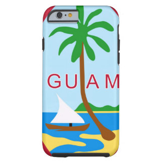GUAM - emblem/flag/coat of arms/symbol Tough iPhone 6 Case