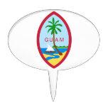 GUAM - emblema/bandera/escudo de armas/símbolo Figura Para Tarta