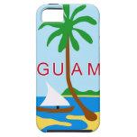 GUAM - emblema/bandera/escudo de armas/símbolo iPhone 5 Funda