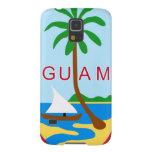 GUAM - emblema/bandera/escudo de armas/símbolo Funda De Galaxy S5