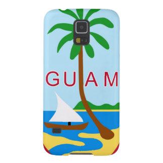 GUAM - emblema/bandera/escudo de armas/símbolo Carcasa De Galaxy S5