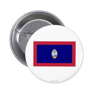 Guam Flag Button