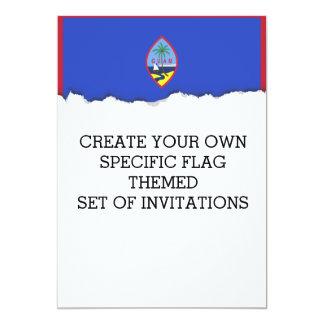 Guam Flag Card