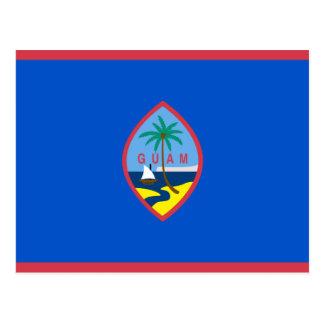 Guam Flag GU Postcard