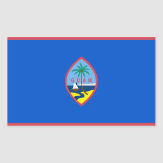 Guam Flag GU Sticker