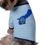 Guam Flag Map Pet Clothes