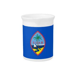 Guam Flag Pitcher