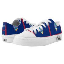 GUAM FLAG --.png Low-Top Sneakers