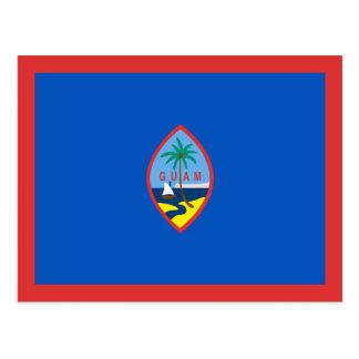 Guam Flag Postcard
