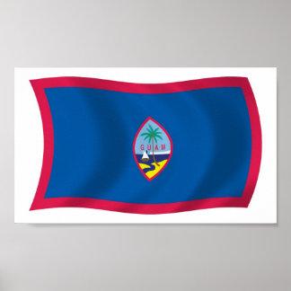 Guam Flag Poster Print